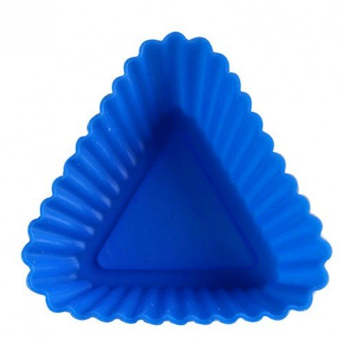 Triangle Cake and Cupcake Silicone Baking Mold