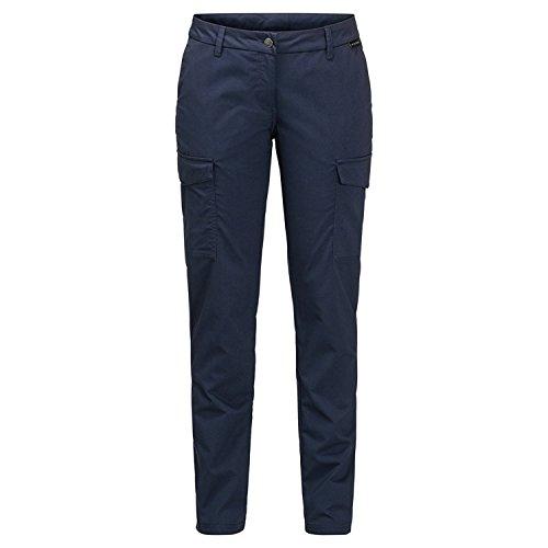 Pantalones Liberty Cargo Jack Wolfskin para mujer, azul medianoche, 34 (US 27/31)