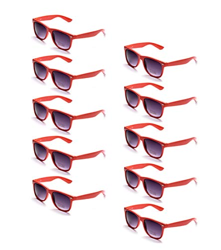 Mickey Mouse Sunglasses Party Favors (100% UV Protection Wholesale Multi PACK Unisex 80'S Retro Style Promotional)