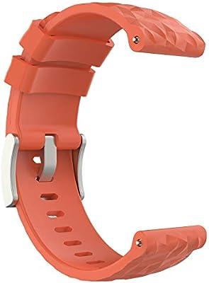 LeafBoat - Correa de Silicona para Suunto D5, Compatible con Reloj ...