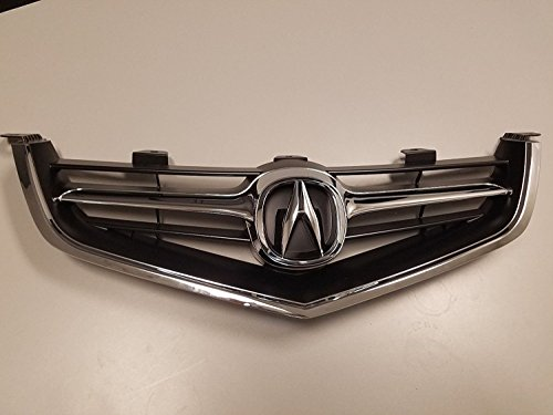 New Grille for 2004-2005 TSX W/OEM - Acura Grill