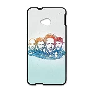 Coldplay HTC One M7 Cell Phone Case Black DIY Present pjz003_6502138