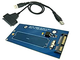 18-Pin to SATA Adapter Card With USB 2.0 SATA Cable For SSD From 2010-2011 MACBOOK AIR A1369 A1370 A1377