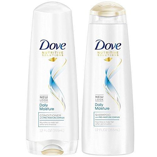 Dove Moisture Shampoo Conditioner Package