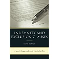 Indemnity and Exclusion Clauses