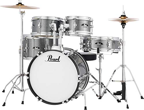 Roadshow Jr. 5 piece Drum Set w/Hardware and Cymbals