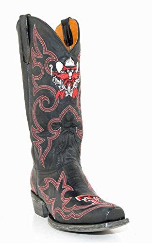 Ncaa Texas Tech Rode Raiders Heren Gameday Boots Zwart