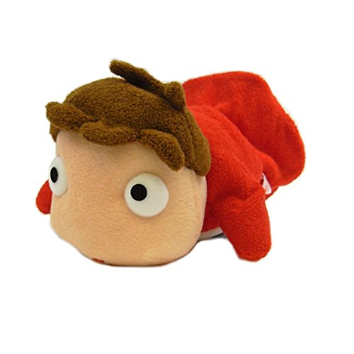 "8"" long Ponyo hand puppet plush doll"