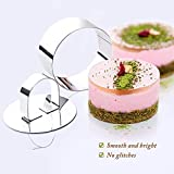 Stainless Steel Small Cake Rings, Mousse Cake Molds