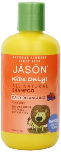 JASON Kids Only! Daily Shampooing Démêlant, 8 bouteille d'once
