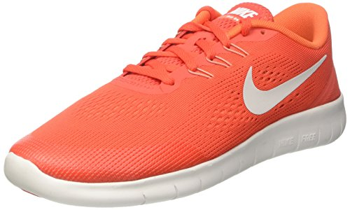 Nike Free RN GS, Sneakers Unisex Niños Varios colores (Max Orange / Pure Platinum / Orchid / Off / White)