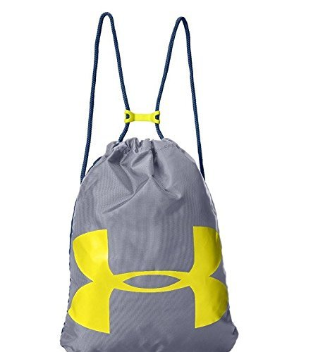 Under Armour Ozsee Sackpack, Steel/Sunbleached, One Size [並行輸入品] B07FHR5NHF