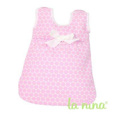 La Nina - Saco de dormir para muñecas, color rosa (Diset 60236)