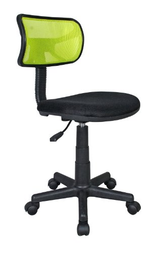 Student Mesh Task Office Chair. Color: Lime (Wooden Cheap Chairs Rocking)