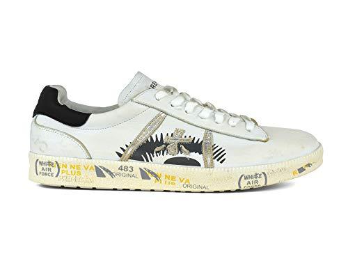 Andy Scarpe Bianco 3094 nero Uomo PREMIATA Basse Sneakers AZnqa7AwI