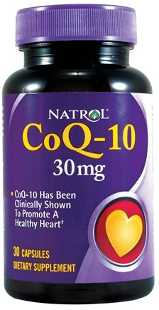 Natrol Coenzyme Q-10, 30mg Capsules, 30-Count Photo #1