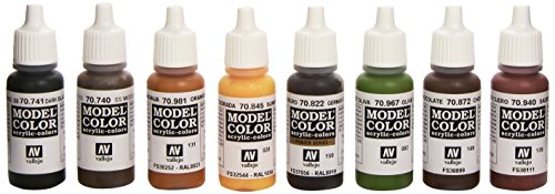 Vallejo Waffen-SS Camouflage Set, 17ml for sale  Delivered anywhere in USA