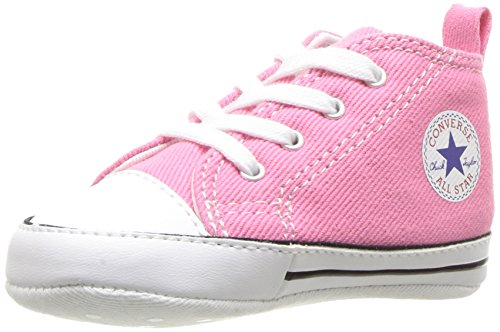 Converse Baby First Star High Top Sneaker, Pink,