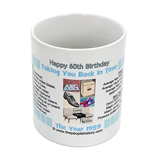 60th Birthday Gift - Coffee Mug