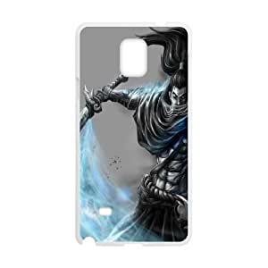 Peronalised Phone Case Yasuo For Samsung Galaxy Note 4 N9100 LJ2S32650