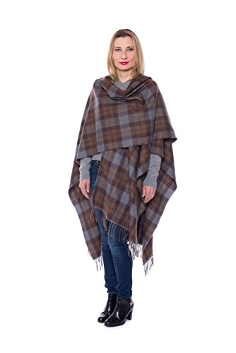 OUTLANDER Wrap Premium Lambswool Tartan (OUTLANDER) by The Celtic Croft