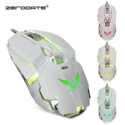 Mchoice ZERODATE X800 Wired Gaming Mouse With 4 - level for sale  Delivered anywhere in USA