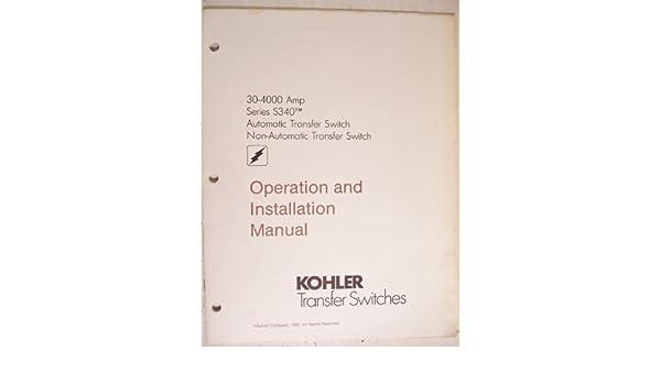 Kohler Transfer Switches Operation and Installation Manual ... on kohler ats wiring diagram, kohler rdt automatic transfer switch, kohler engine ignition wiring diagram, 20 hp kohler wiring diagram,