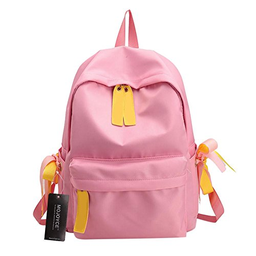 Strap Casual Pink Fitting Shoulder Lightweight Backpack Universal Adjustable Prosperveil HwSYdS