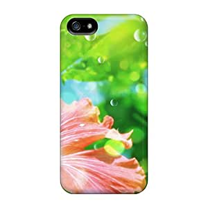 5/5s Scratch-proof Protection Case Cover For Iphone/ Hot Flower Jpg Phone Case
