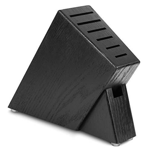 Cutlery and More 7-slot Slim Knife Block (Black)