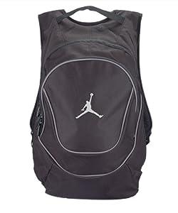 Amazon.com : Nike Air Jordan Jumpman Black Book-Bag BackPack ...