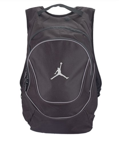 959e42e52714 Image Unavailable. Image not available for. Color  Nike Air Jordan Jumpman  Black Book-Bag BackPack ...