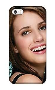 For Iphone 5/5s Fashion Design Emma Roberts?wallpaper Case-LztYjQl7248QZUXZ
