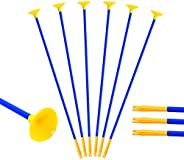 Huntingdoor Children Hunting 23 Inch Sucker Arrows Kids Youth Replacement Suction Cup Arrows for Outdoor Targe