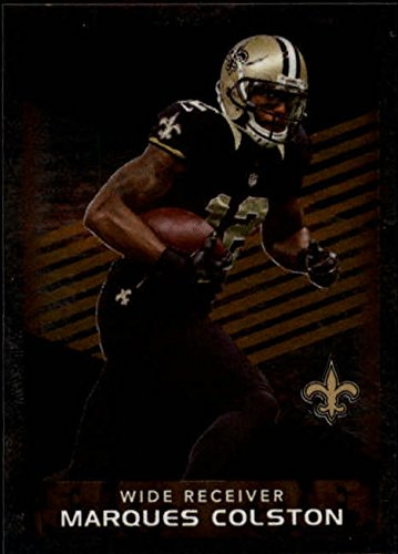2015 Panini Stickers #371 Marques Colston New Orleans Saints (Marques Colston Card)