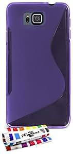 Muzzano F840769 - Funda para Samsung Galaxy Alpha, color violeta