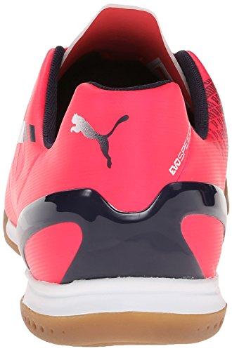 Soccer Peacoat PUMA Plasma Indoor Mens Evospeed 3 Shoe White Bright 4 wgXFw