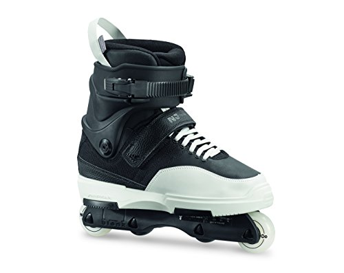 Rollerblade Men's Nj Team Street Inline Skate, Black/White, Size 11