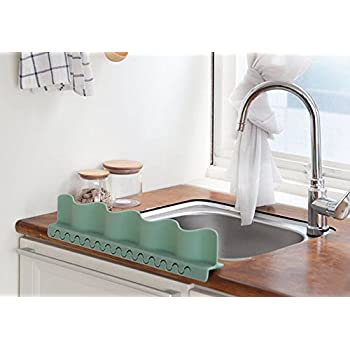 Mia home silicon kitchen sink water splash for Splash guard kitchen sink