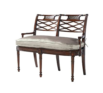 Amazon Com Theodore Alexander 4500 037 Regency Mahogany Double