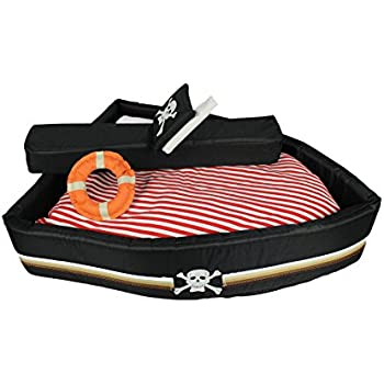Amazon.com : Freerun Boat Shaped Dog Bed Soft Warm Pet