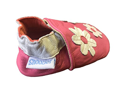 Shoozies Baby Jungen Lauflernschuhe Pink Rose