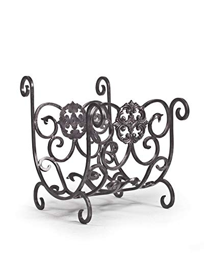 (Balsam Hill Estate Fireplace Wood Holder - Pewter | 23