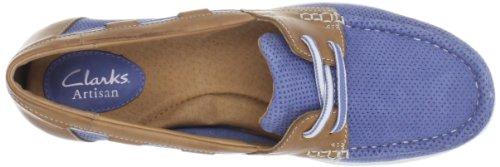 Clarks Womens Cliffrose Voile Bateau Chaussure Bleu