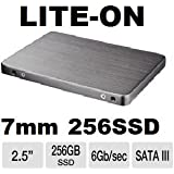 LITEON LCS-256L9S-11 256gb ssd 2.5 7mm sata 6Gbps drive week ban. NO EXCEPTIONS! 256GB LiteOn LCS-256M6S 7mm 6GB/s SSD's