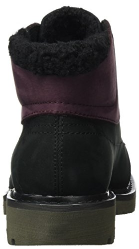Wine Wp Fret Tasting Black Women''s Womens Caterpillar Fur Boots Black qBt1xFv8w