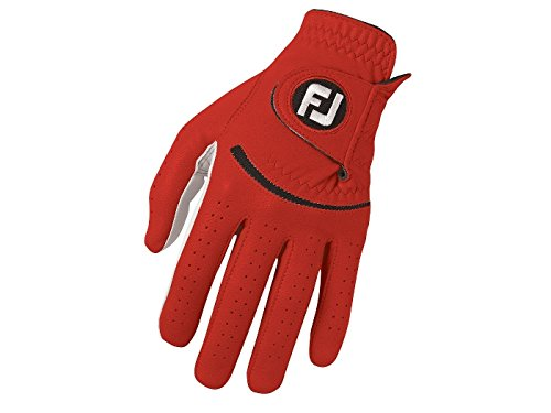 FootJoy-Spectrum-Mens-Golf-Glove-Left-Fits-on-Left-Hand-Red-S