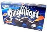 Pinguinos Marinela - Cream Filled Chocolate Cup Cakes - 6 Pastelitos - 8.46 oz