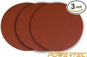 3 Pack 9 60 Grit PSA Aluminum Oxide Disc