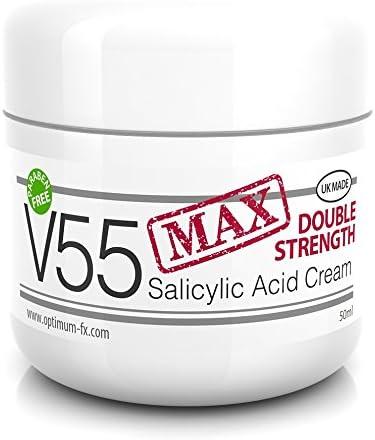 El ácido salicílico combate y previene los poros taponados y combate las bacterias. Ayuda a eliminar